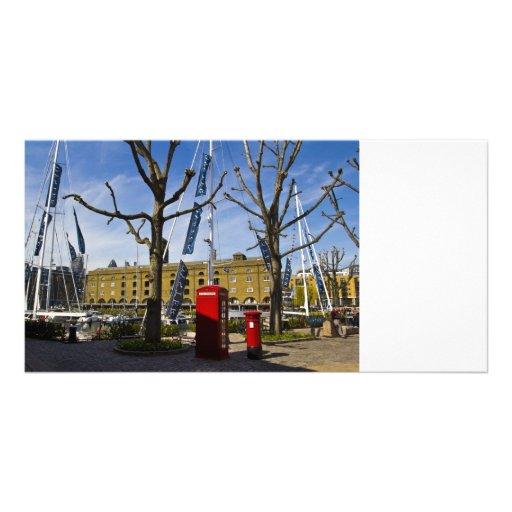 Post Box Phone box Custom Photo Card