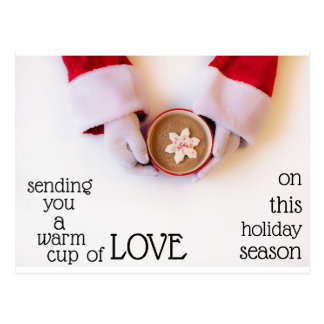 Post card-cup of love postcard