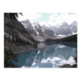 Post Card, Moraine Lake. Banff Alberta. Postcard