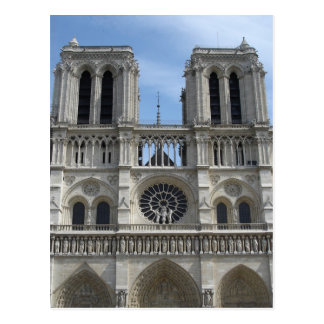 Post Card--Notre Dame Cathedral Postcard