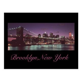 post card nyny, Brooklyn,New York