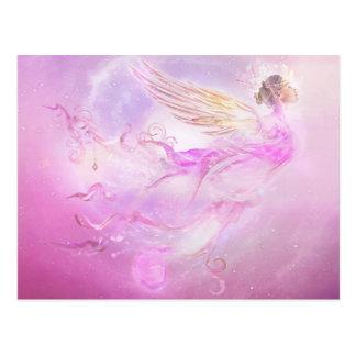 Post card Purple Fairy