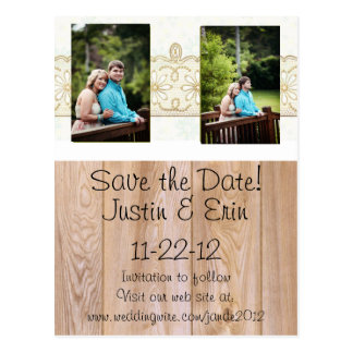 Post card save-the-date