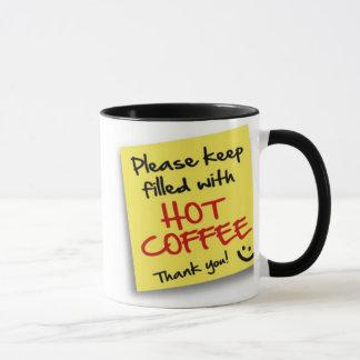 Post HOT COFFEE - mug