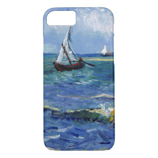 Post-Impressionist Boats at Sea Art, iPhone 7 iPhone 7 Case