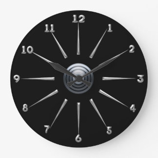 Post Industrial Large Clock