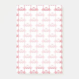 Post-it® Pink flamingos Post-it Notes