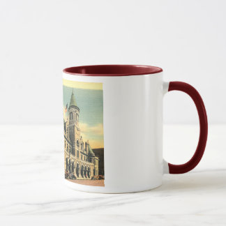 Post Office, Augusta, Maine Vintage Mug