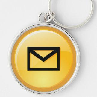 Post Office Box Key Keychain