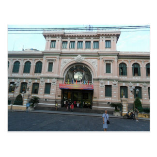 Post Office building in Ho Chi Minh, Vietnam Postcard