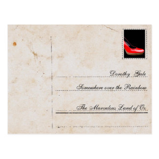 Post office for… Dorothy Gale (Wizard OF Oz) Postcard