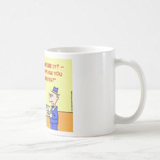 post office insured coffee mug