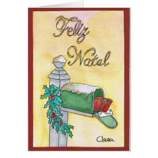 Post office of Christmas/mail Christmas Greeting Card
