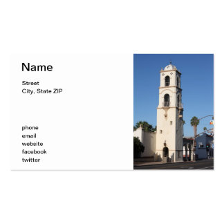 Post Office Tower Ojai Business Card Template