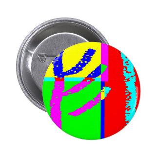 Post Pencil J 2 Inch Round Button