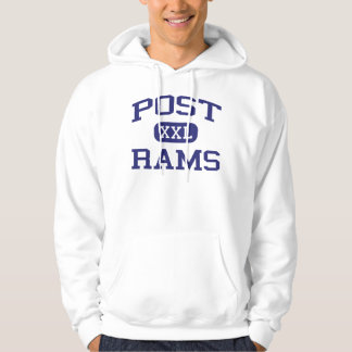 Post - Rams - Junior - Detroit Michigan Hoodie