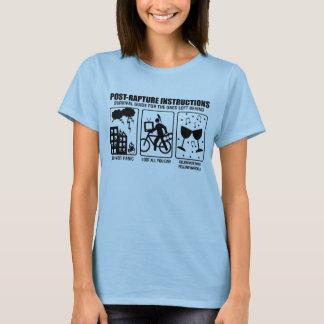 POST-RAPTURE INSTRUCTIONS T-Shirt