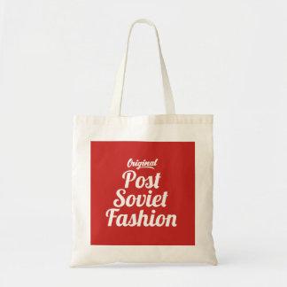 Post Soviet Fashion Vintage Style Tote Bag