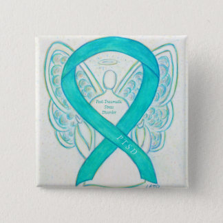 Post-Traumatic Stress Disorder Awareness Angel Pin