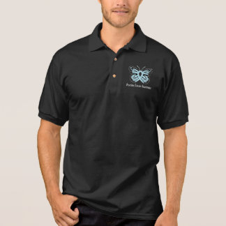 Post Traumatic Syndrome Disorder Butterfly of Hope Polo Shirt