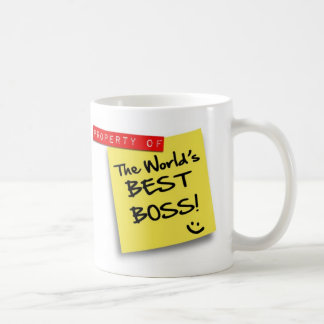 Post WORLD'S BEST BOSS - mug