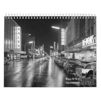 Post-WWII Sacramento Calendars