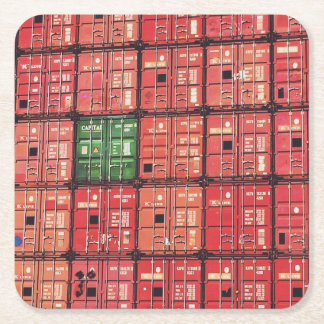 Postage or Rotterdam Square Paper Coaster