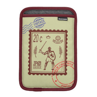 Postage Stamp Medieval Knight Sleeve Sleeve For iPad Mini