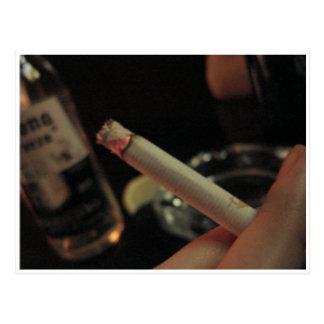 Postal cigarette postcard