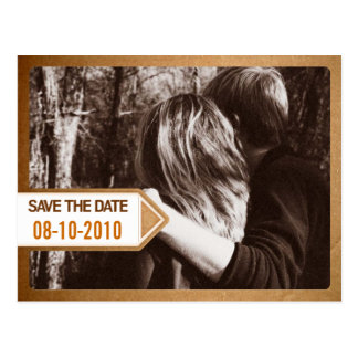 Postal Notice Save the Date Card