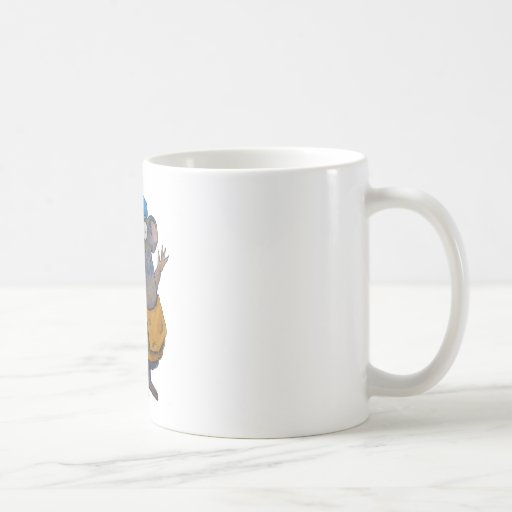 Postal Post Mail Carrier Postman Thank You Mouse Coffee Mugs