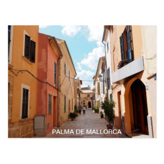 postal street old quarters of Palma de Mallorca Postcard