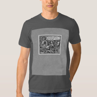 Postal Union Congress 1929 1 Pound Postage Stamp Shirts