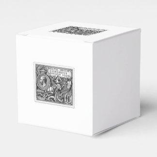 Postal Union Congress 1929 1 Pound Postage Stamp Wedding Favor Box