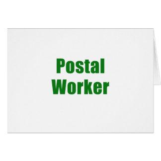 Postal Worker Card