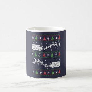 Postal Worker Christmas Coffee Mug
