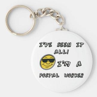 Postal Worker Keychain
