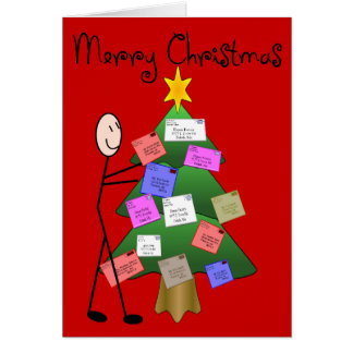 """Postal Worker """"Merry Christmas"""" Cards & Postcards"""