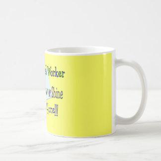 "Postal Worker Rain Sleet Snow ""STAYING HOME"" Coffee Mug"