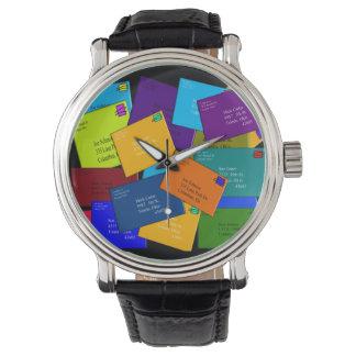 Postal Worker Watch Letters Design