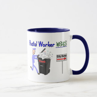 Postal Worker Wishes--Funny Mug