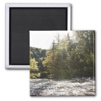 postalm road, weissenbachtal, 2 square magnet