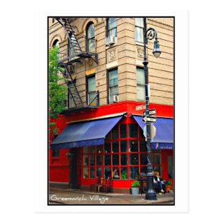 Postcard 2 - Greenwich Village, NYC