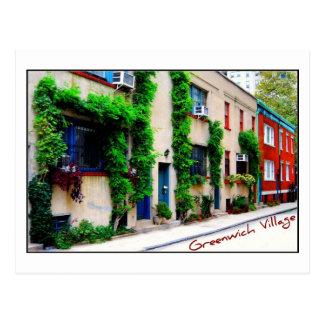 Postcard 5 - Greenwich Village, NYC