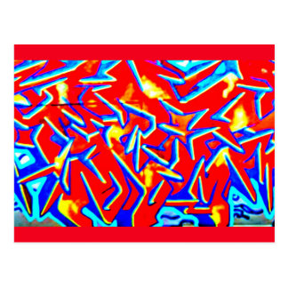 Postcard-Abstract/Misc-Graffiti Gallery 103 Postcard