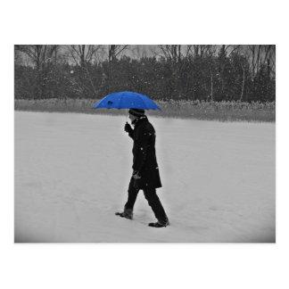 Postcard - against the snow