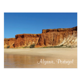 Postcard - Algarve Portugal - Praia de falesia 2