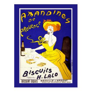Postcard Amandines de Provence by Cappiello