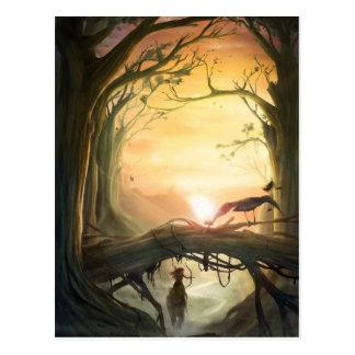 Postcard: Amazone/Amazon Postcard