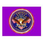 Postcard America Spirit Is Not Forgotten 50 Colour